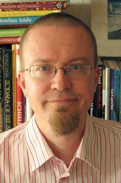 Sexpon hallituksen puheenjohtaja J. Tuomas Harviainen.