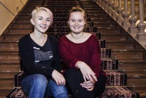 Lotta Luukka ja Mira Merinen tarttuivat tapahtuman järjestämiseen jo ensimmäisenä opiskeluvuotenaan 2013.