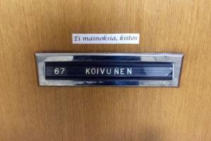 Turkulaiset opiskelijat pitävät vuokra-asunnoistaan yleensä hyvää huolta, eivätkä joudu huolehtimaan vakuuden menettämisestä. Kuva: Salli Koivunen