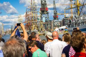 Tall Ships Races keräsi yli puoli miljoonaa kävijää viime kesänä. Kuva: Arttu Kuivanen