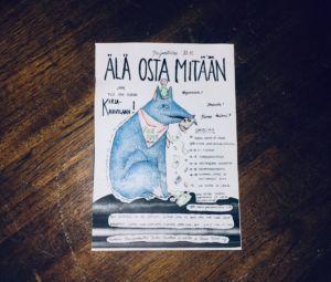Turun kirjakahvilassa Älä osta mitään -päivänä on aamusta iltaan ilmaista ohjelmaa. (Kuva: Peppi Kiiski)