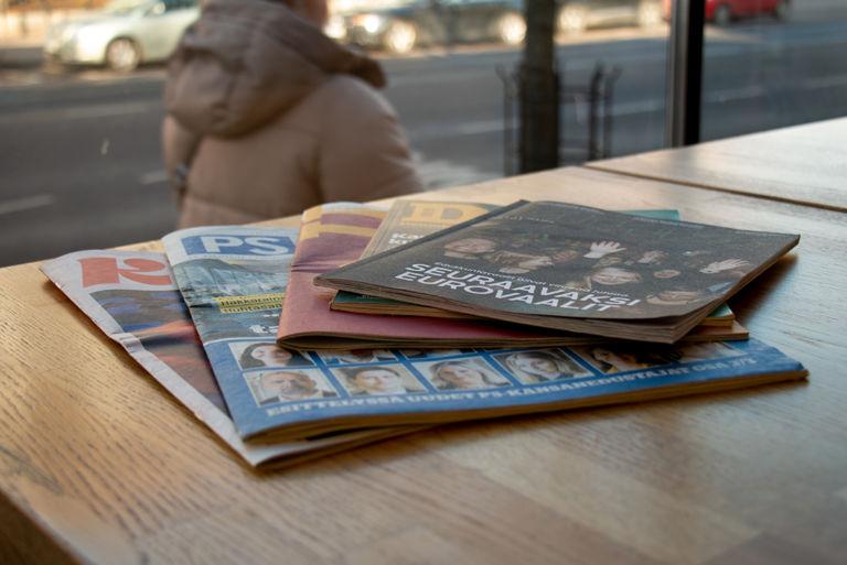 Paperinen puoluelehti – korvaamaton kommunikoinnille vai viestimenä auttamatta vanhentunut? Kuva: Laura Forsén
