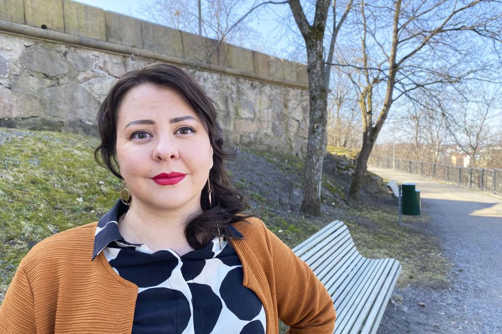 Jenny Paananen Turun Vartiovuorenmäellä