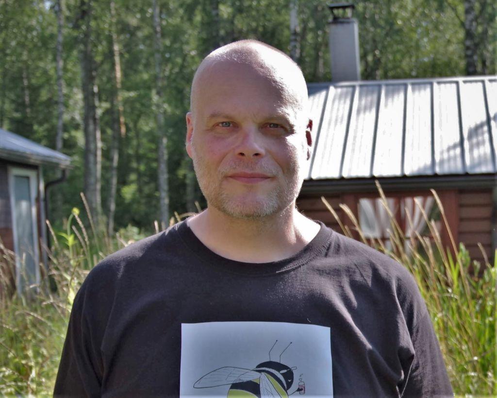 Ensiavun kenttäjohtaja Antti Niittylahti - kuva: Anni Niittylahti
