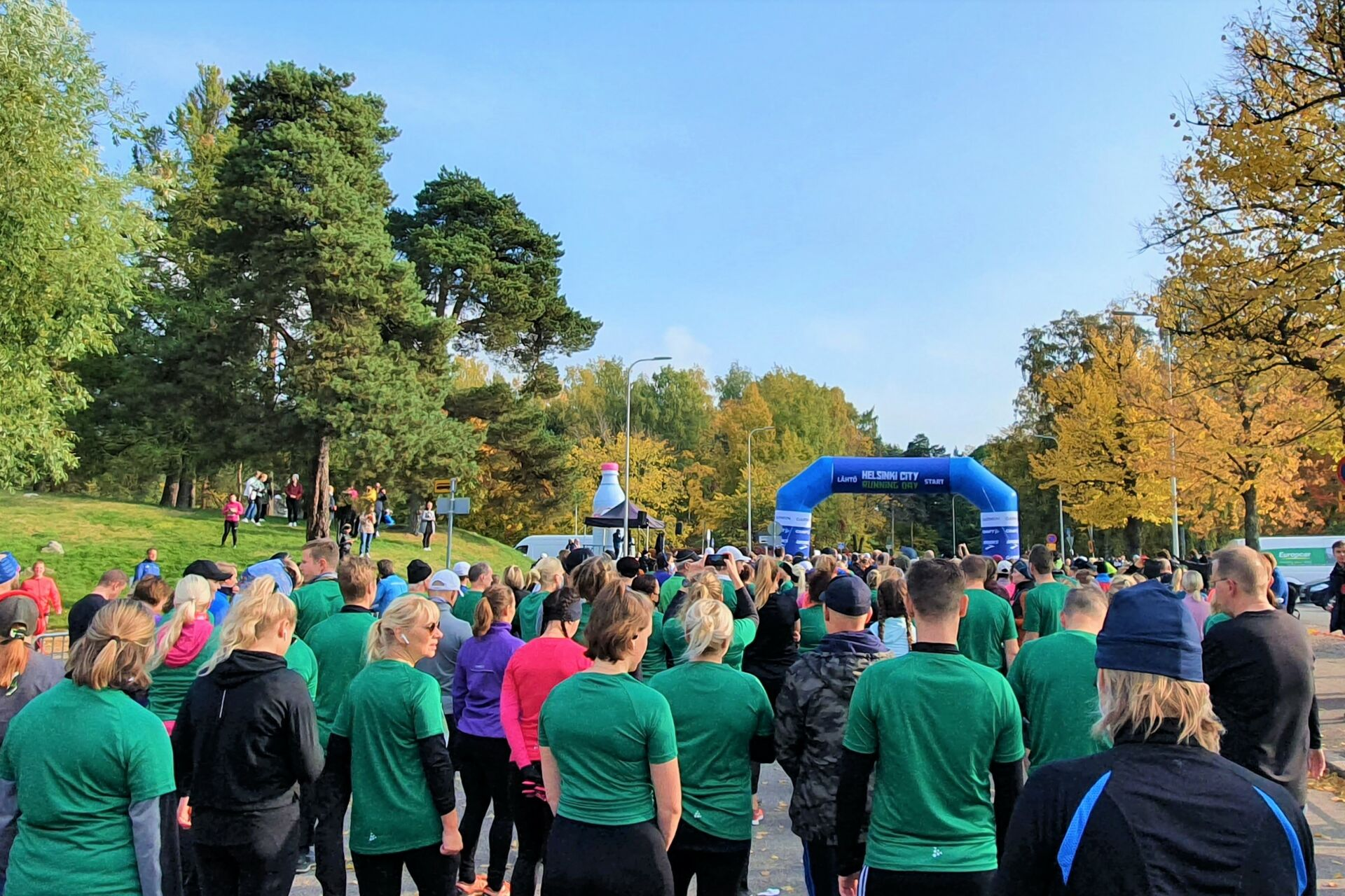 Helsinki City Running Day 2021 startti, kuva: Stella Hag